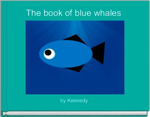 The book of blue whales