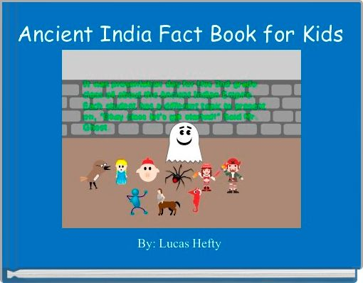 Ancient India Fact Book for Kids