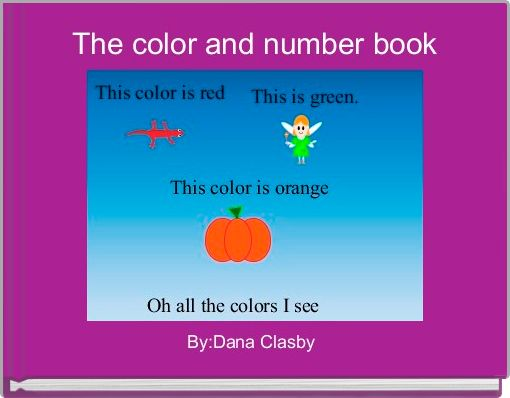The color and number book