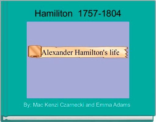 Hamiliton  1757-1804