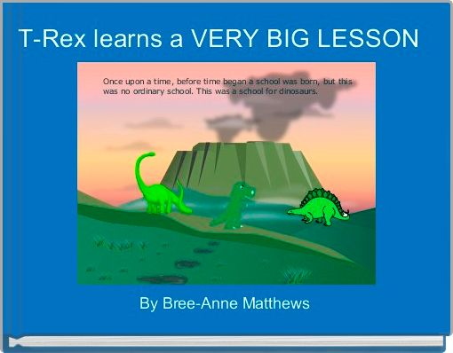 T-Rex learns a VERY BIG LESSON
