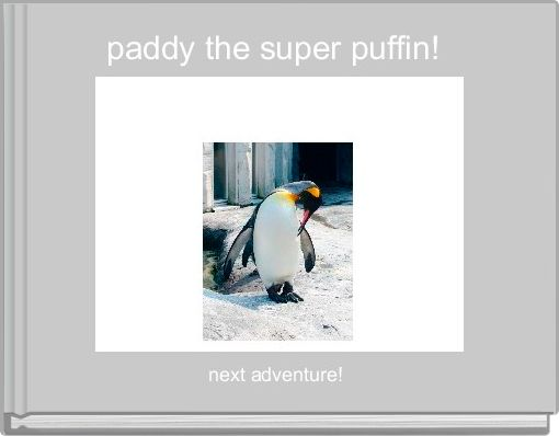 paddy the super puffin!