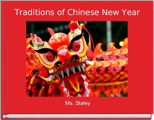 Traditions of Chinese New Year