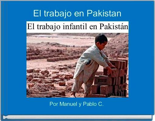 El trabajo en Pakistan