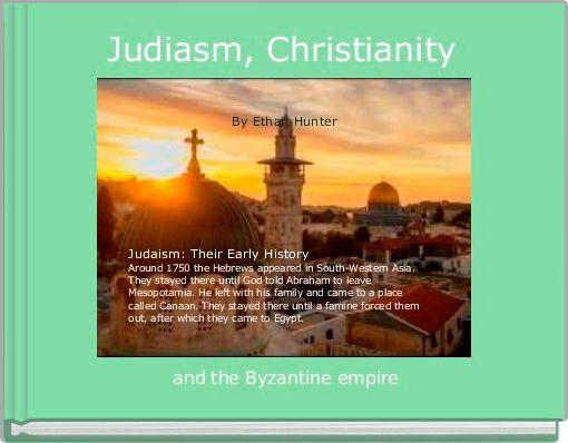 Judiasm, Christianity