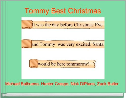 Tommy Best Christmas