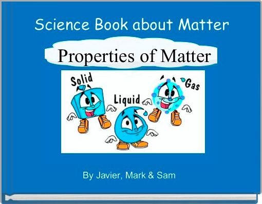 Science Book about Matter