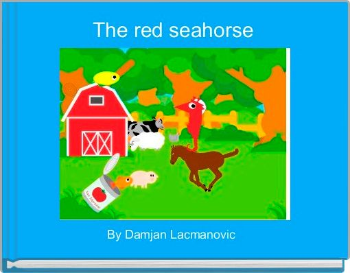 The red seahorse