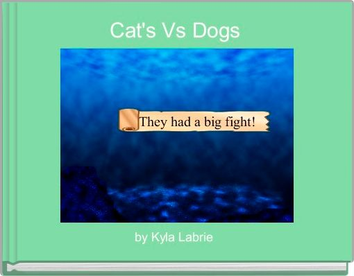 Cat's Vs Dogs