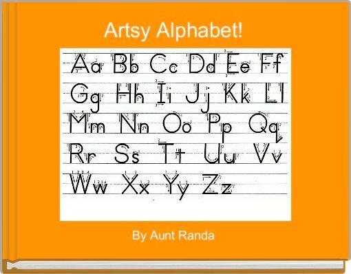 Artsy Alphabet!
