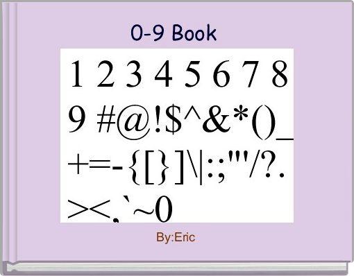 0-9 Book