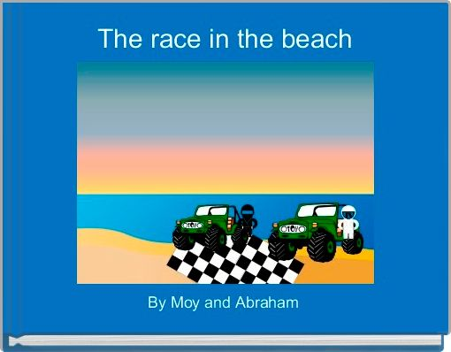 The race in the beach
