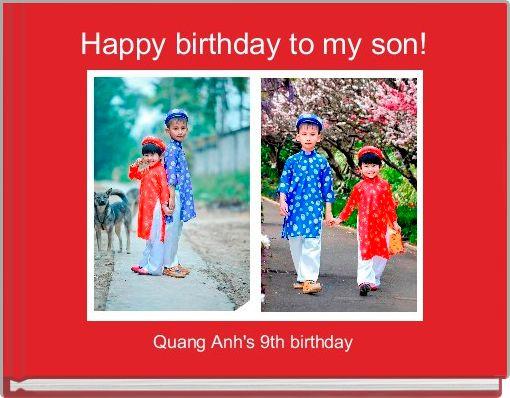 Happy birthday to my son!
