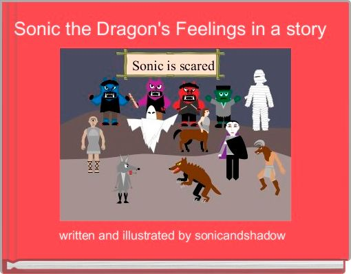 Sonic the Dragon's Feelings in a story