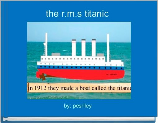 the r.m.s titanic