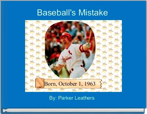 Baseball's Mistake