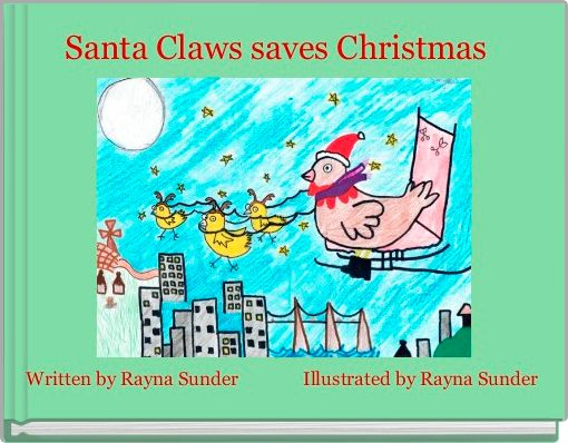 Santa Claws saves Christmas