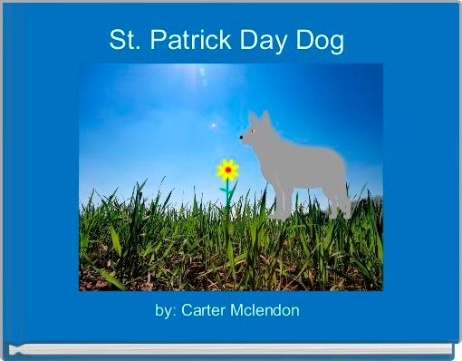 St. Patrick Day Dog
