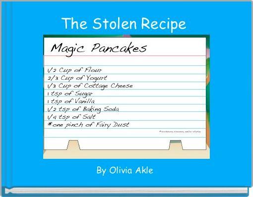 The Stolen Recipe