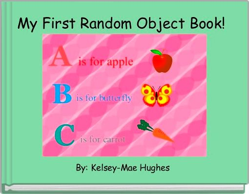 My First Random Object Book!