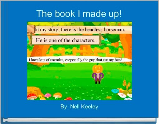 The book I made up!