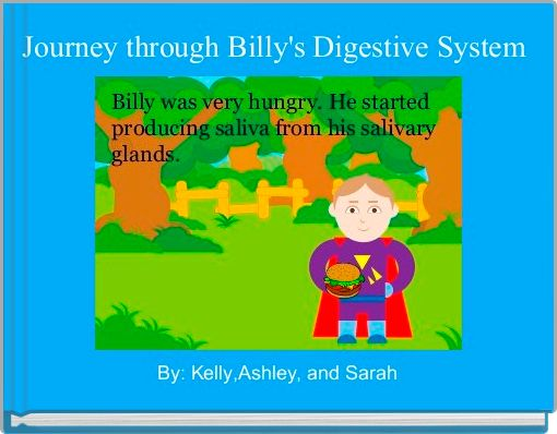 Journey through Billy's Digestive System
