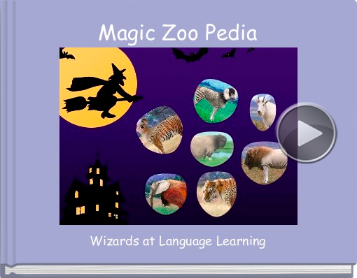 Book titled 'Magic Zoo Pedia'