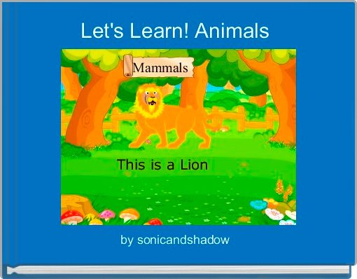 Let's Learn! Animals
