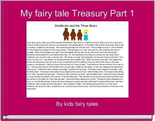 My fairy tale Treasury Part 1