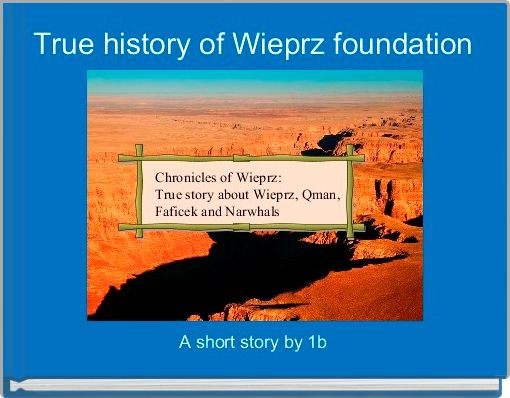True history of Wieprz foundation