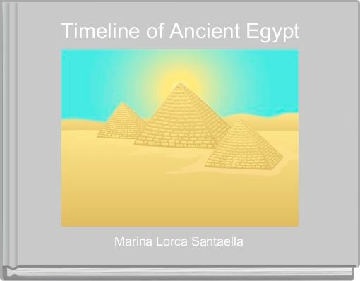 Timeline of Ancient Egypt