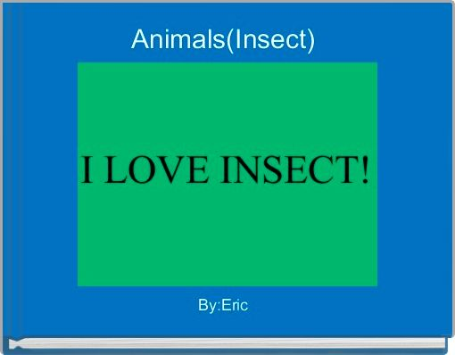 Animals(Insect)