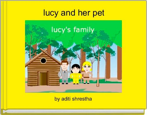 lucy and her pet