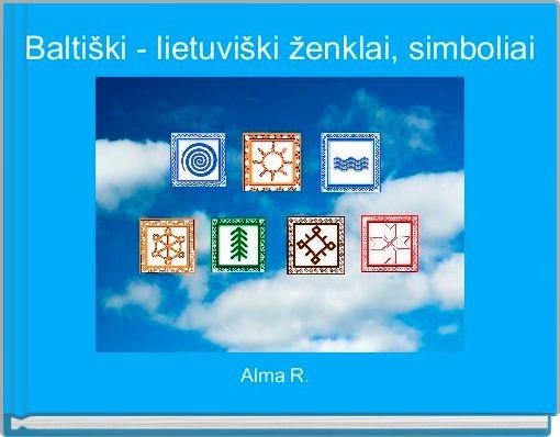 Baltiški - lietuviški ženklai, simboliai