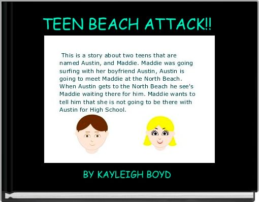 TEEN BEACH ATTACK!!