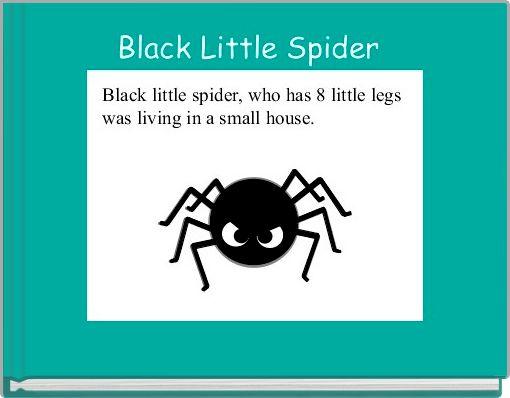Black Little Spider