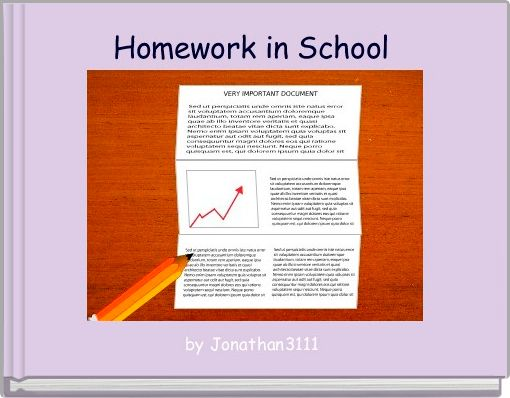 Homework in School