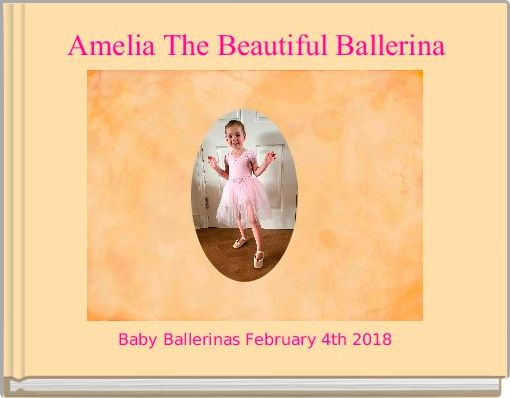 Amelia The Beautiful Ballerina