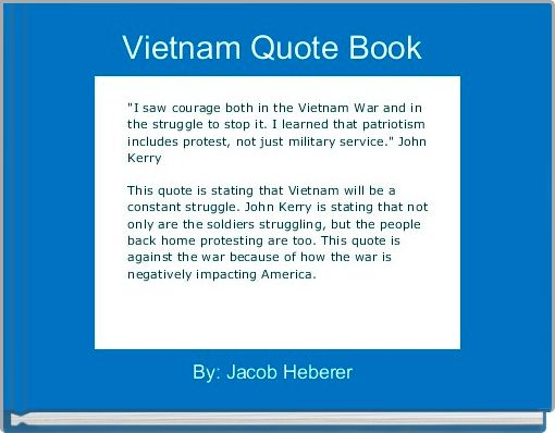 Vietnam Quote Book