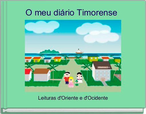 O meu diário Timorense