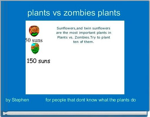 plants vs zombies plants