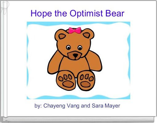 Hope the Optimist Bear