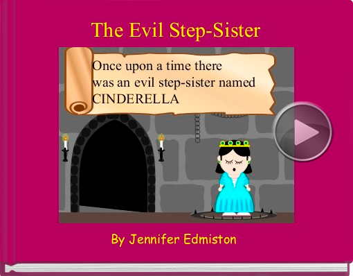 Book titled 'The Evil Step-Sister'