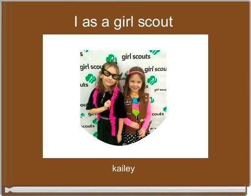 I as a girl scout