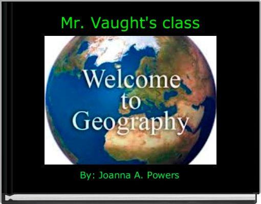 Mr. Vaught's class