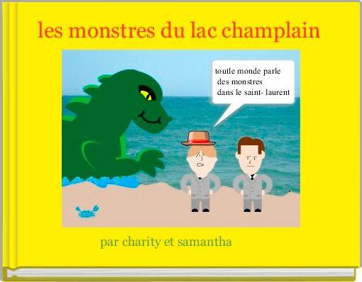 les monstres du lac champlain