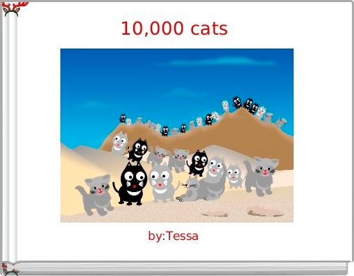 10,000 cats