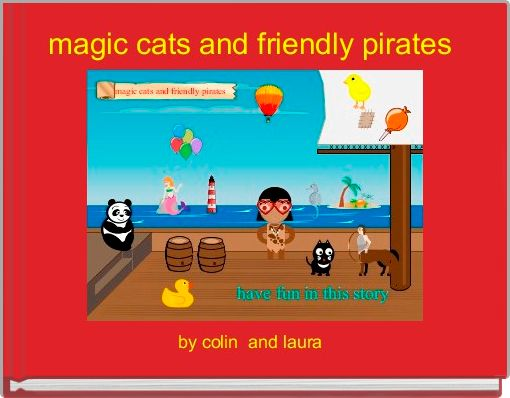 magic cats and friendly pirates