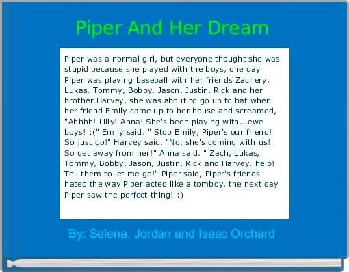 Piper And Her Dream