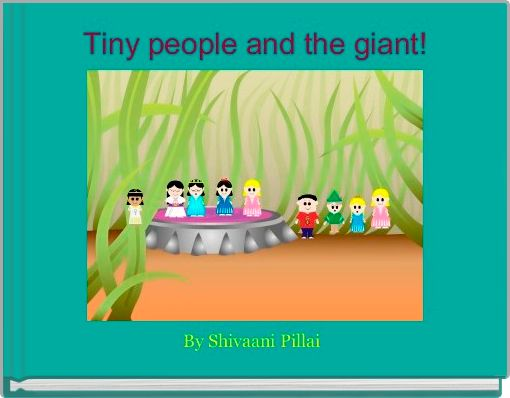 Tiny people and the giant!